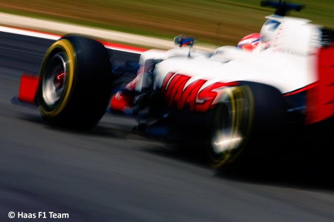 Haas F1 - GP Malasia 2016