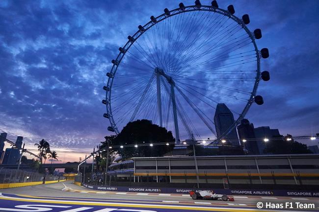 Haas - GP Singapur 2016