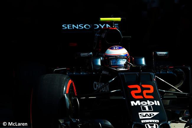 Jenson Button - McLaren - GP Italia - Monza 2016 - Sábado