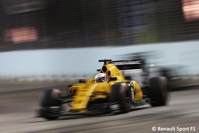 Kevin Magnussen - Renault Sport - Carrera - GP Singapur 2016
