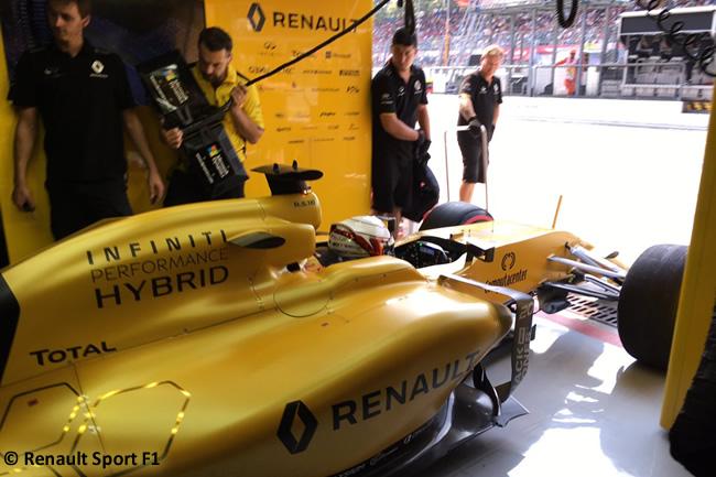 Kevin Magnussen - Renault Sport - GP Italia - Monza 2016 - Sábado