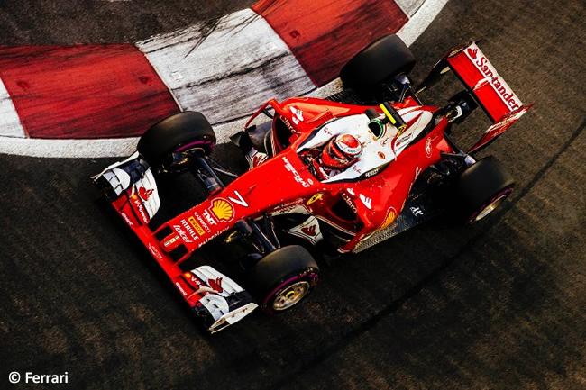 Kimi Raikkonen - Scuderia Ferrari - GP Singapur 2016