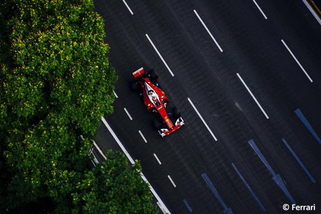 Scuderia Ferrari - GP Singapur 2016