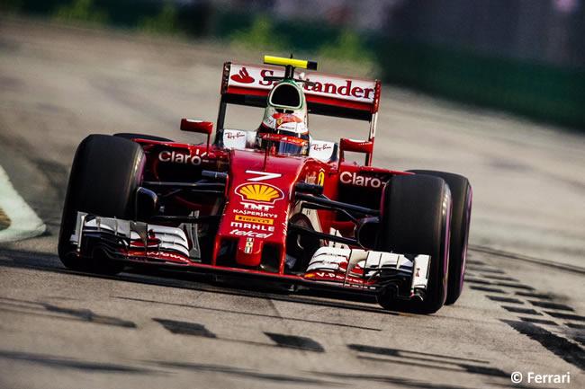 Kimi Raikkonen - Scuderia Ferrari - Carrera - GP Singapur 2016