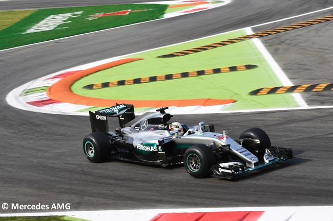 Lewis Hamilton - Mercedes AMG - GP Italia - Monza 2016 - Viernes