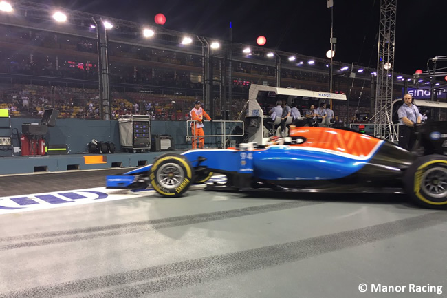 Manor - GP Singapur 2016
