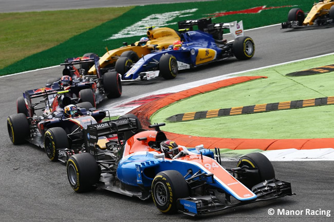 Manor - GP Italia - Monza 2016 - Domingo