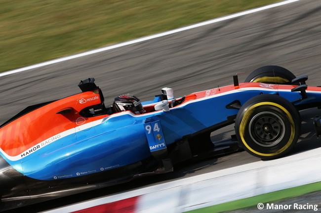 Manor Racing - GP Italia - Monza 2016 - Viernes