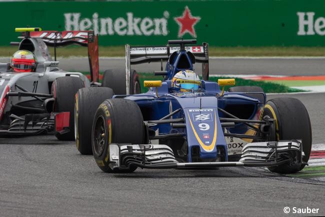 Marcus Ericsson - Sauber - GP Italia - Monza 2016 - Domingo