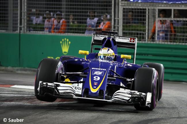Marcus Ericsson - Sauber - GP Singapur 2016