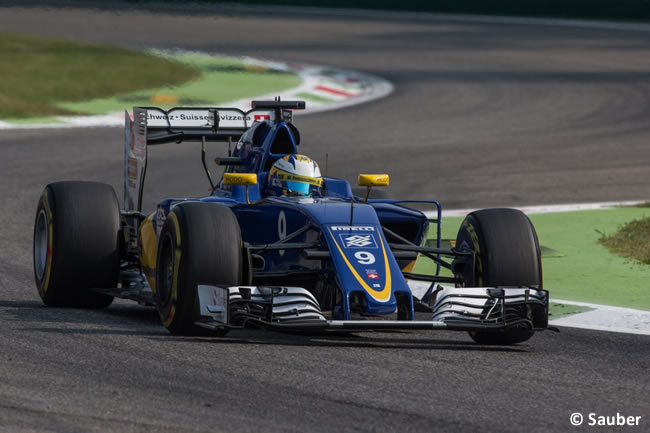 Marcus Ericsson - Sauber - GP Italia - Monza 2016 - Sábado