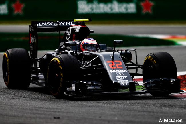McLaren - GP Italia - Monza 2016 - Domingo