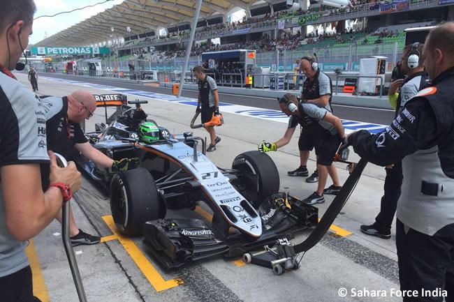 Force India - GP Malasia 2016