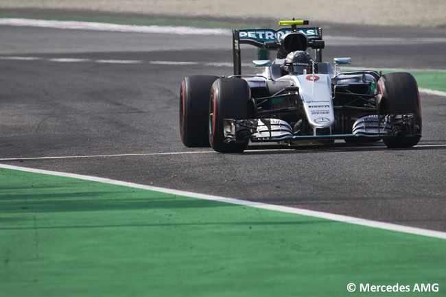 Nico Rosberg - Mercedes AMG - GP Italia - Monza 2016 - Domingo