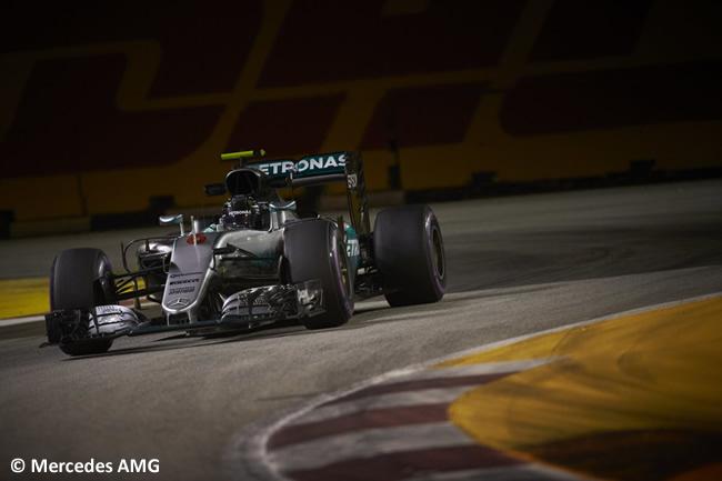 Nico Rosberg - Mercedes AMG - GP Singapur 2016