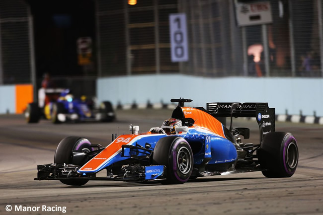 Manor Racing - GP Singapur 2016