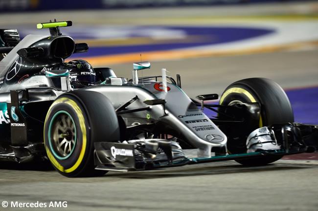 Pole - Nico Rosberg GP Singapur 2016