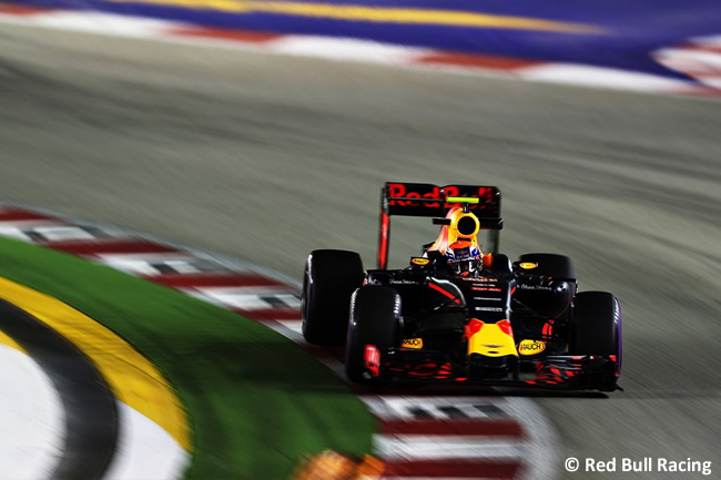 Red Bull Racing- GP Singapur 2016