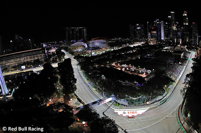 Red Bull Racing - GP Singapur 2016