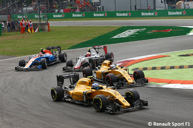 Renault - GP Italia - Monza 2016 - Domingo