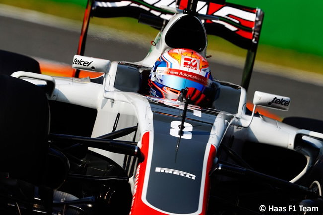 Romain Grosjean - Haas F1 - GP Italia - Monza 2016 - Viernes