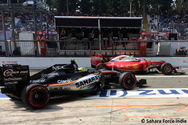 Sahara Force India - GP Italia - Monza 2016 - Sábado