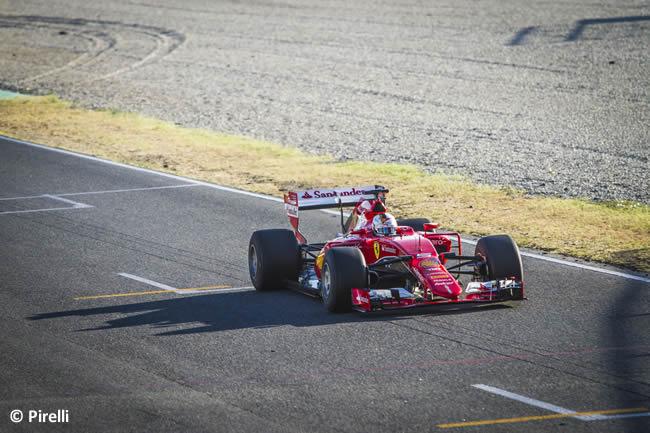 Sebastian Vettel - Scuderia Ferrari - Test Pirelli Barcelona Día 2