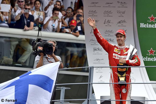 Sebastian Vettel - Scuderia Ferrari - GP Italia - Monza 2016 - Domingo