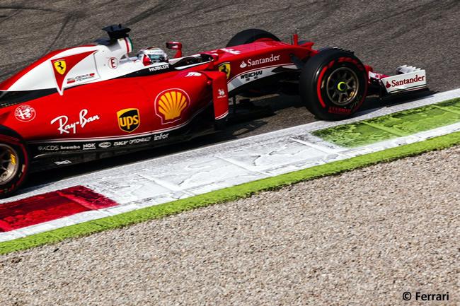Sebastian Vettel - Scuderia Ferrari - GP Italia - Monza 2016 - Sábado