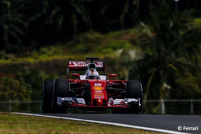 Sebastian Vettel - Scuderia Ferrari - GP Malasia 2016