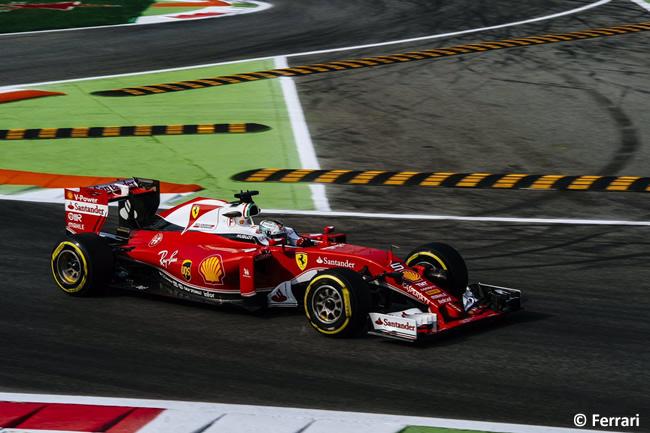 Sebastian Vettel - Scuderia Ferrari - GP Italia - Monza 2016 - Viernes