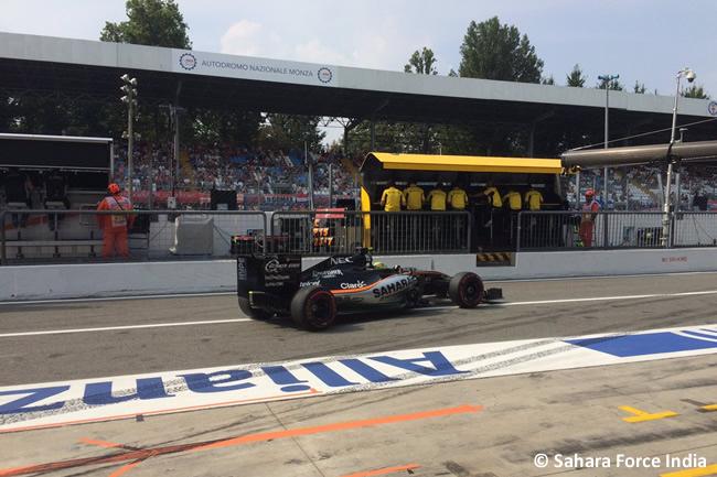Sergio Pérez - Sahara Force India - GP Italia - Monza 2016 - Viernes