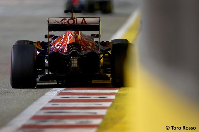 Toro Rosso- GP Singapur 2016