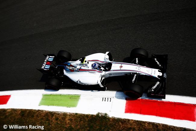 Valtteri Bottas - Williams - GP Italia - Monza 2016 - Viernes