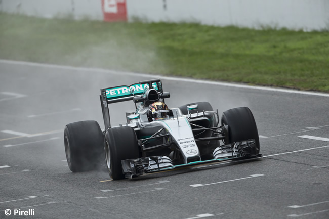 Pirelli - F1 - Barcelona - Test - Pascal Wehrlein