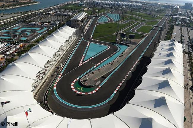 Pirelli - Abu Dhabi 2016 - Test 3 neumáticos - Red Bull Racing