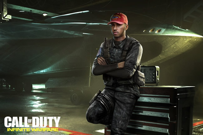Call of Duty: Infinite Warfare - Lewis Hamilton