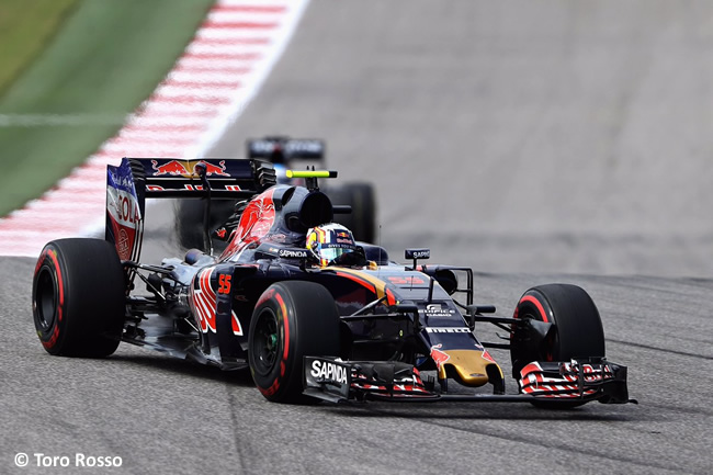Carlos Sainz - Toro Rosso - GP EE. UU. 2016