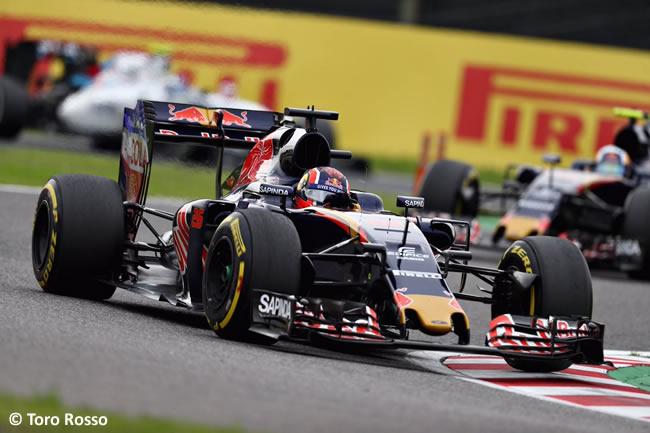 Daniil Kvyat -Toro Rosso - Domingo GP Japón 2016