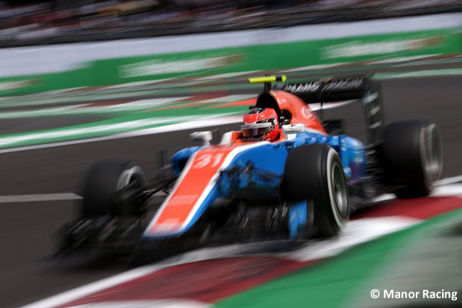 Esteban Ocon - Manor Racing - GP México 2016 - Domingo