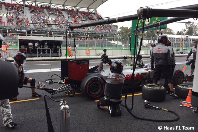 Esteban Gutiérrez - Haas F1 - GP México 2016 - Viernes
