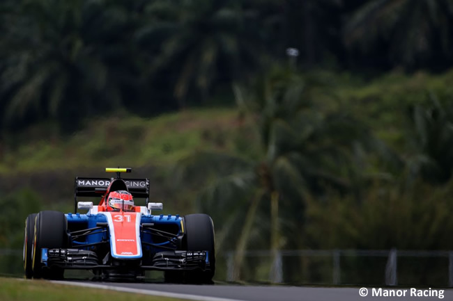 Esteban Ocon - Manor - GP Malasia 2016
