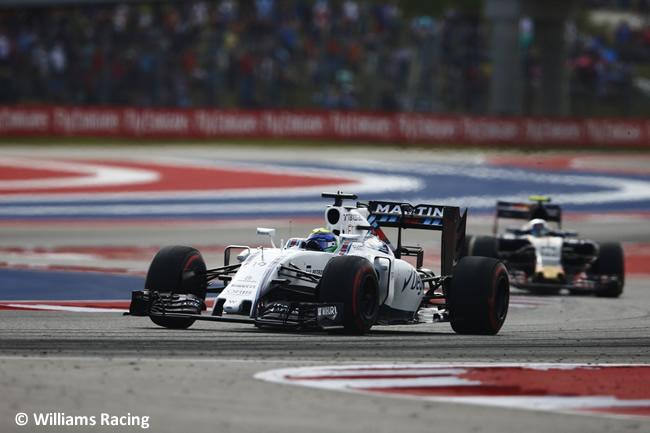 Felipe Massa - Williams - GP EE. UU. 2016
