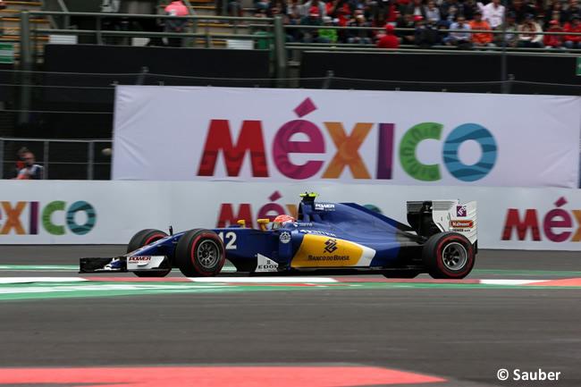 Felipe Nasr - Sauber - GP México 2016 - Viernes