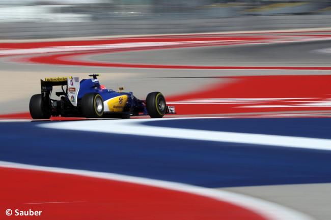 Felipe Nasr - Sauber - Viernes GP EE. UU. 2016