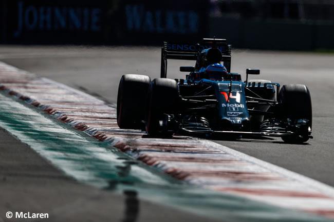 Fernando Alonso - McLaren - GP México 2016 - Calificación