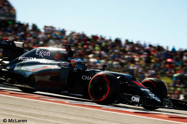Fernando Alonso - McLaren - Sábado - GP EE. UU. 2016