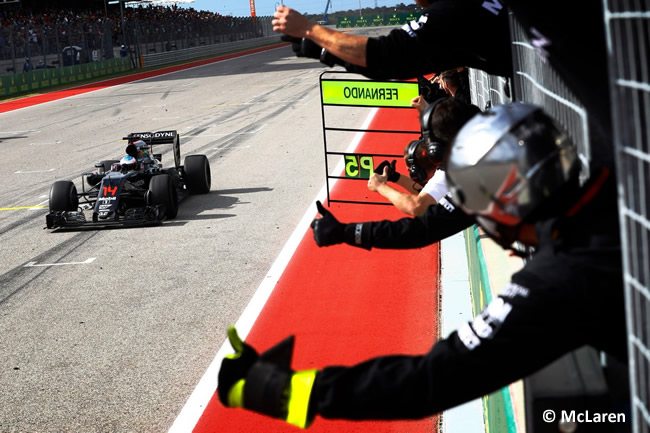 Fernando Alonso - McLaren - GP EE. UU. 2016