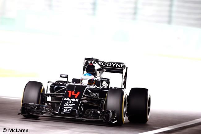 Fernando Alonso - McLaren - Domingo GP Japón 2016