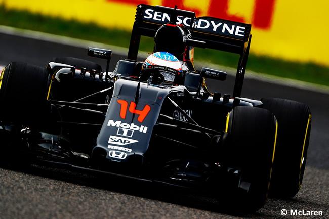 Fernando Alonso - McLaren - Sábado GP Japón 2016